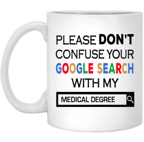 Google search medical degree